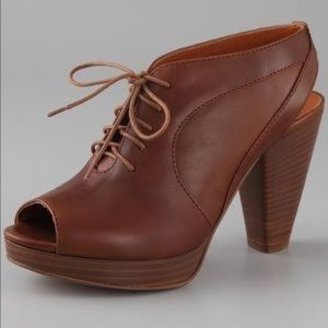 MADEWELL 1937 Oxford Sling Back Booties 7